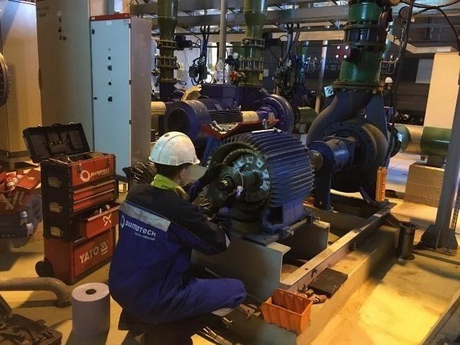 ремонт насосных установок