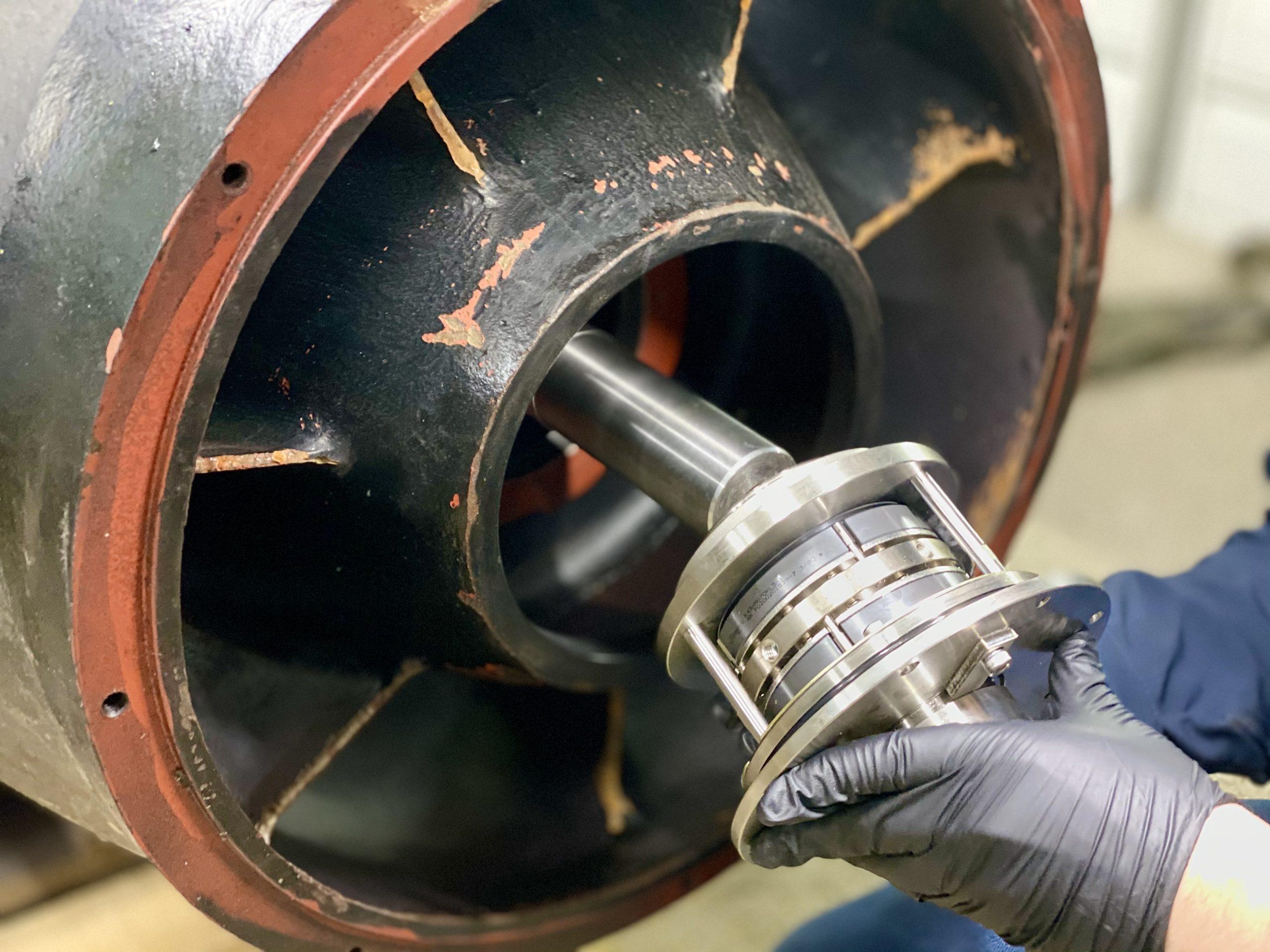 ремонт промышленных насосов