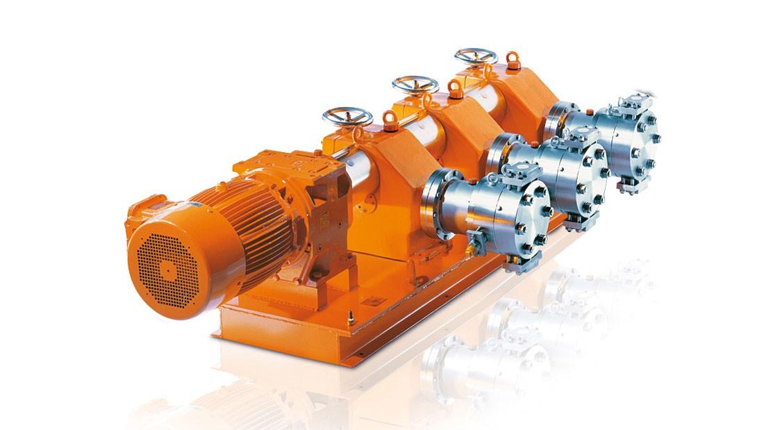 Гидравлический мембранный насос-дозатор Orlita® MF