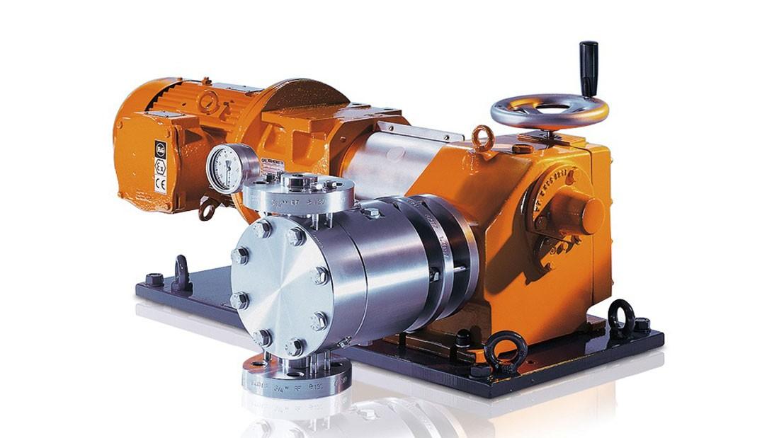 Гидравлический мембранный насос-дозатор Orlita® MH
