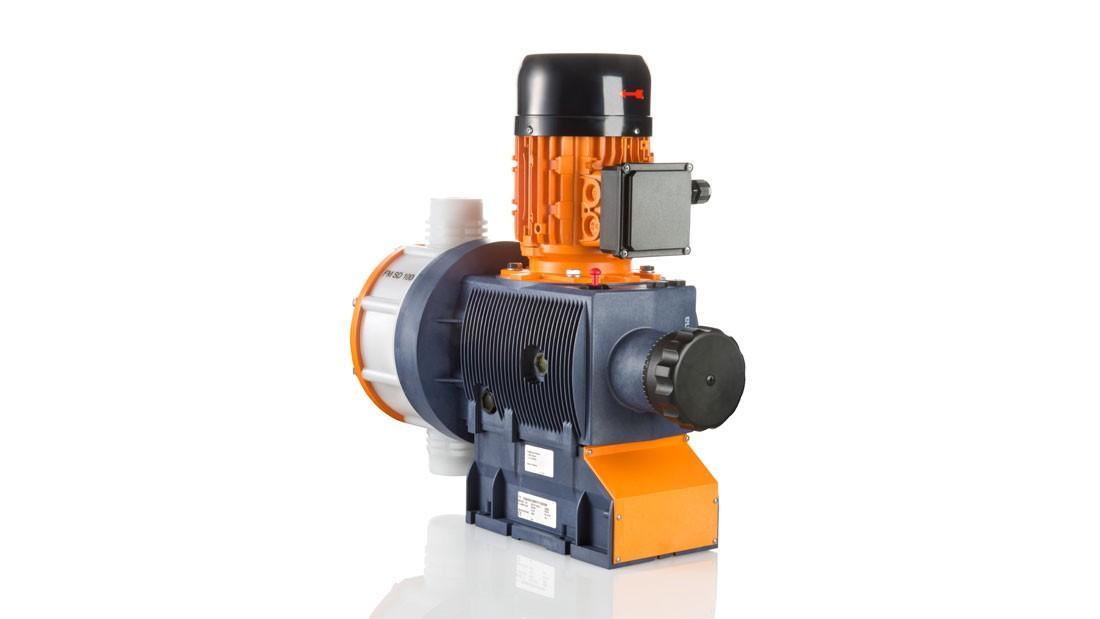 Мембранный насос-дозатор с моторным приводом Sigma/ 2