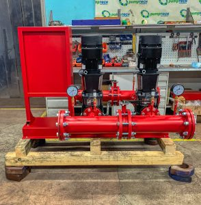 fire fighting system grundfos cr